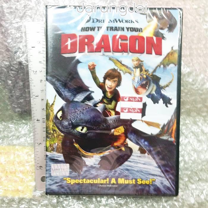 dvd หนัง การ์ตูน dragon ภาค 1 how to train your dragon thai/eng